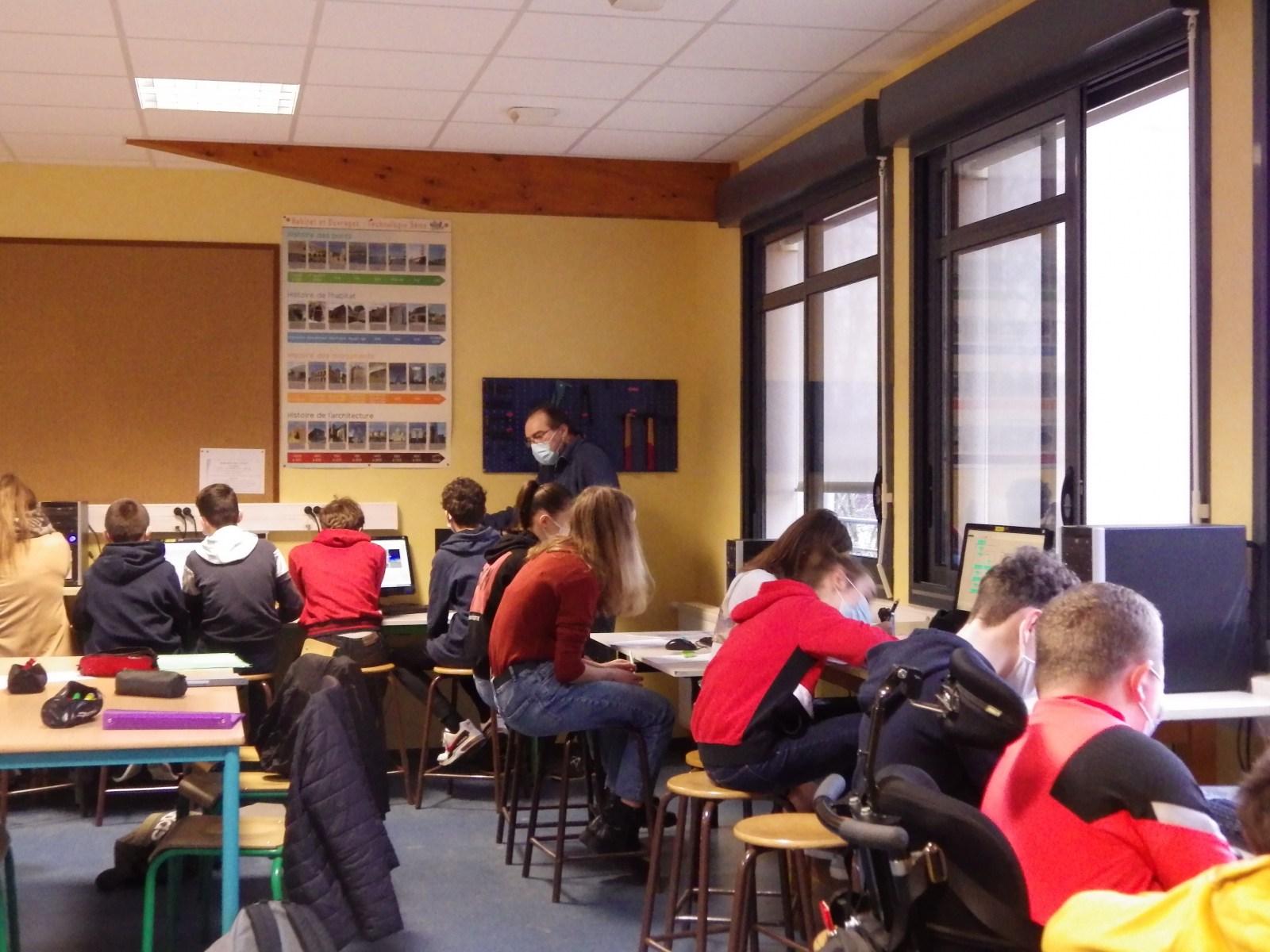 Salle de technologie n°2